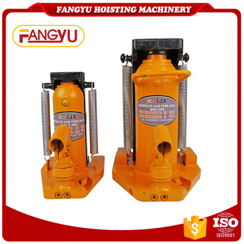 Shopping lifting car 10 ton hydraulic jack price