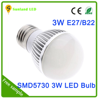 Latest model AC85-265V CE ROHS passed SMD5730 6pcs led bulb g9 3w e14