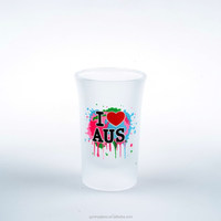 funny and hot sale drinking glass and clear glass cup set in Guangzhou factory