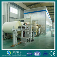 High performance 3200 Type copy A4 paper making machine from wood pulp