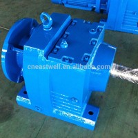 Solid Shaft Helical Gear Reducer With
