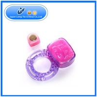 New Arrival Latest Jelly Men Penis Ring High Quality Vibrator Cock Ring For Adult Joy