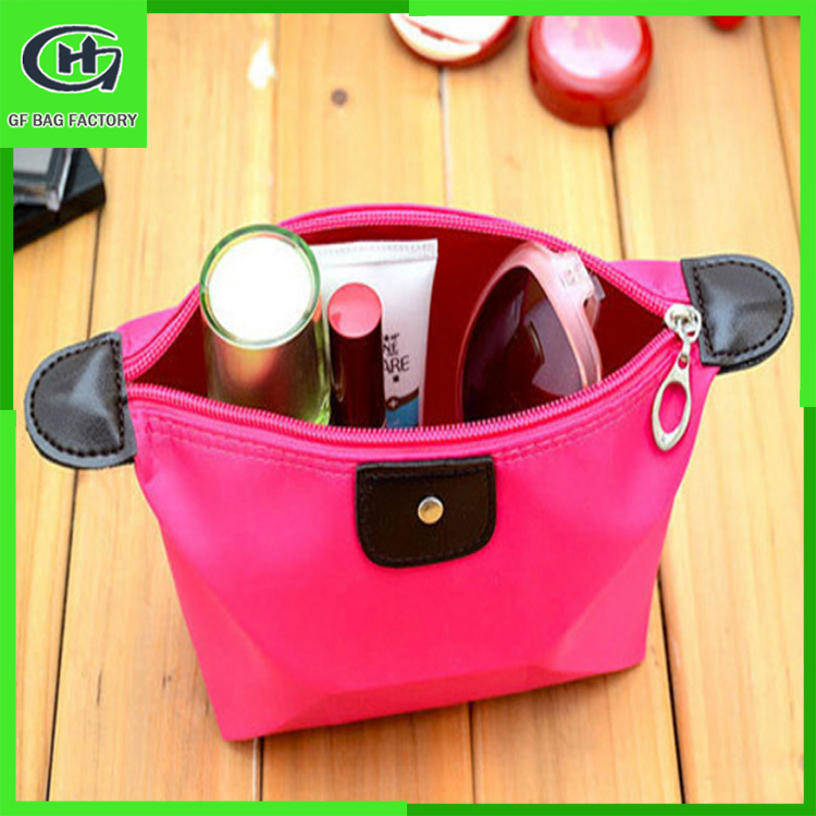 Wholesale makeup kit , cosmetic makeup brushes roll bag pouch , funny makeup cosmetic bag