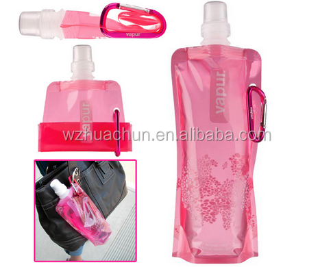 Eco-Friendly Feature and Water Bottles Drinkware Type plastic foldable water bottle