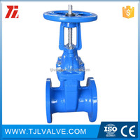 rising Casting gate valve with prices Water Low Pressure