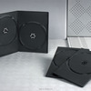 Wholesale Plastic Black 7mm Double DVD