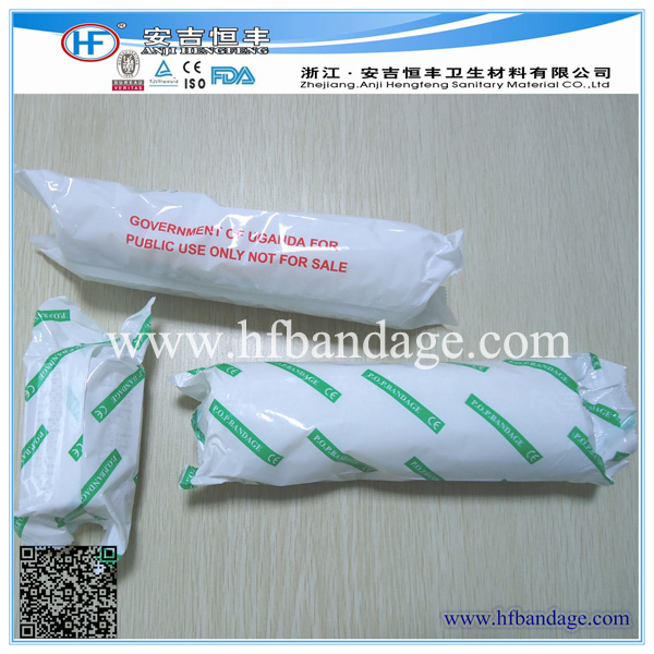 POP bandage (Plaster of Paris) with CE ISO FDA