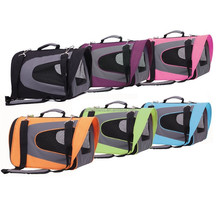 easy- -clean portable soft pet carrier for travel