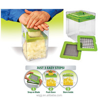 Magic Chopper Vegetable Slicer Two Blades Vegetable Chopper