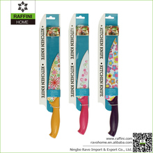 Cheap Price Kitchen Knife Steel Colorful Knives
