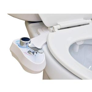 Arun Bidet -Hot Cold Water Bidet - Dual Nozzles - Self Cleaning - Non-Electric Retractable Toilet Bidet