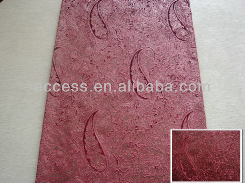 home/ hotel used and bronzed velvet curtain fabric