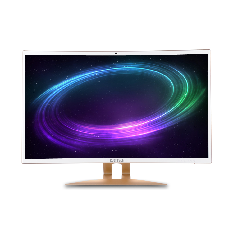 Factory price 32 inch led panel curved ultra thin screen gamer pc i7 desktop all in one pc