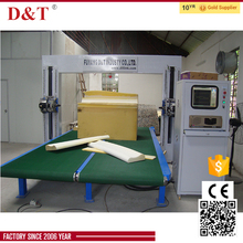 pu foam cutting machine with high speed, toothed blade cutting line
