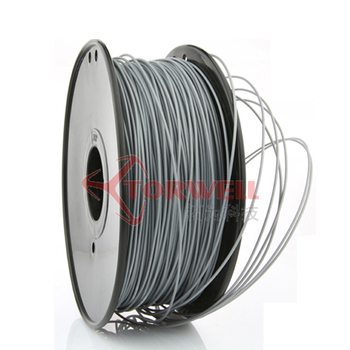 Silver 1.75mm PLA Filament for FDM 3D Printers
