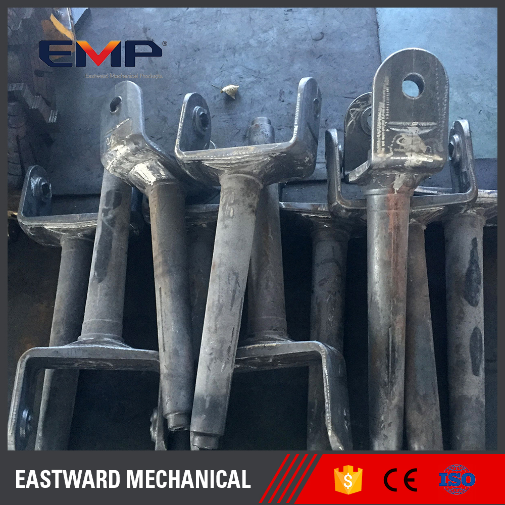 A Grade Plain Iron High-Speed Rail Accessories Connecting Shift Fork Casting Parts