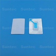 8.2MHZ rf jewelry tags labels eas alarm security soft label 3x4 for bottle retail