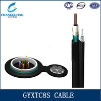 High quality GYXTC8S communication multi mode fiber optic cable blowing machine