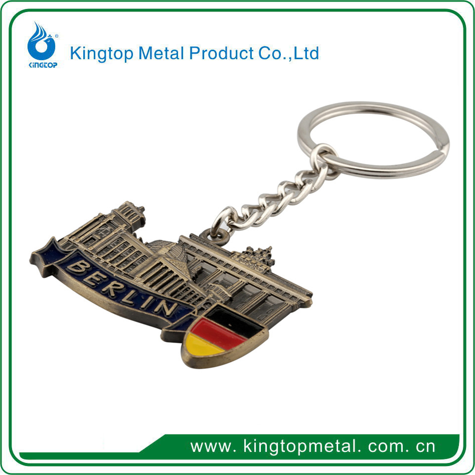 Cancun Tourist Souvenir metal keychain