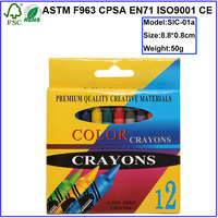 high quality non-toxic bright color wax crayon for children use crayon