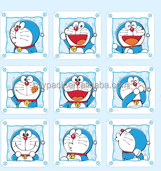 heat transfer film with Doraemon design for Wardrobe