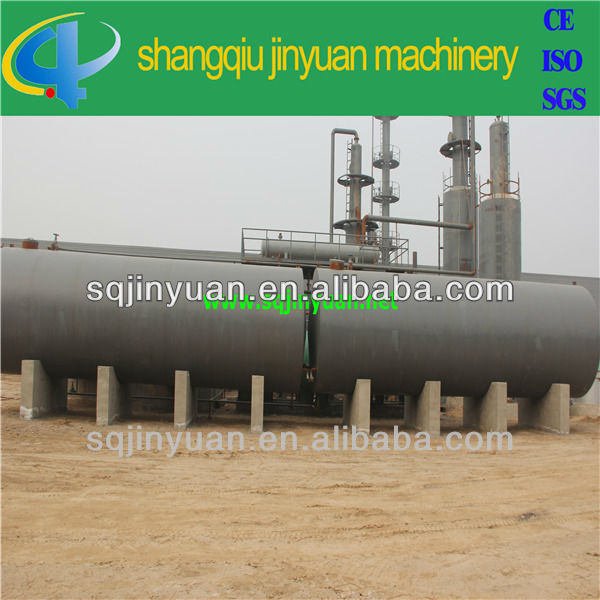 2014 Economic Waste Oil Distillation to Diesel Machine