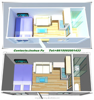 Nice designed container house villa