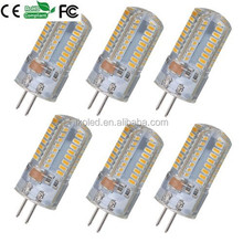 brand new and best quality G4 6W 68 SMD 3014 180LM 3000K high power G4 LED Corn Bulb Crystal Capsule