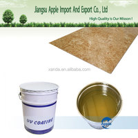 anti scratch high glossy UV varnish for PVC marble sheet and pvc floor