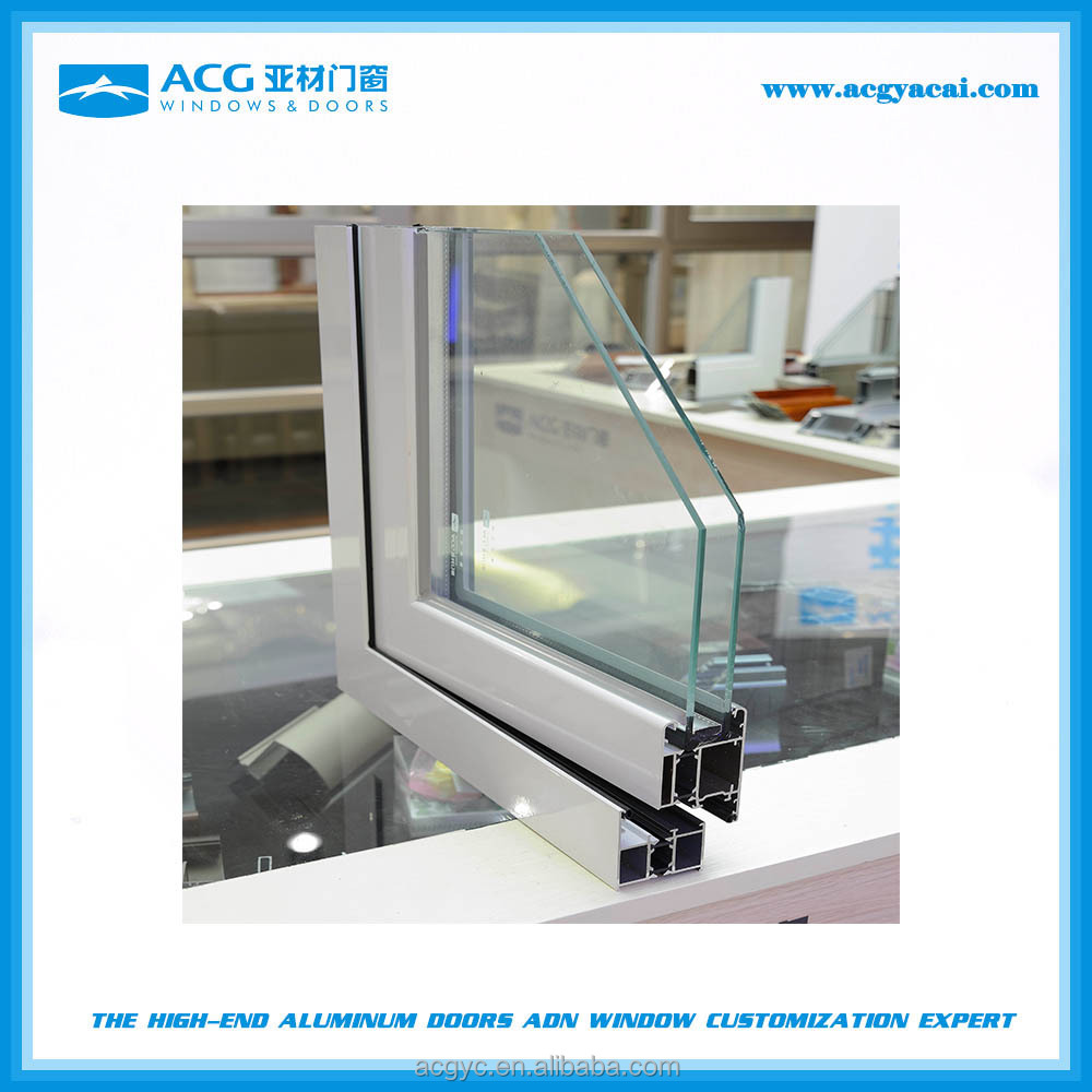 Guangdong Factory powder coating finished aluminum extrusion for swing door and window