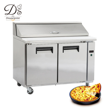 Stainless Steel Commercial Pizza Refrigerator/Pizza Work Table/Pizza Prep Table Refrigerator