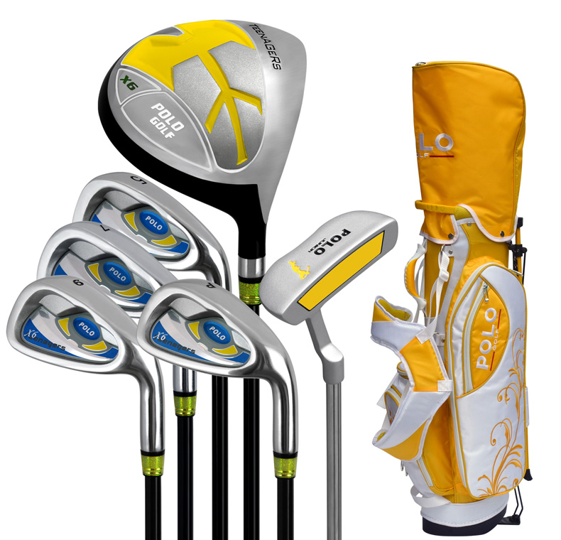 Profession OEM Graphite Complete Golf Club Set for Junior/Kids with 6 pcs Club,Right and Left