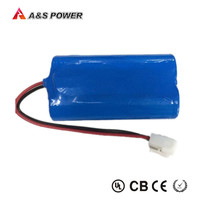 Rechargeable cell 18650 6.4V 1500mAh LiFePO4 battery packs for Electric vehicles, solar energy storage, mobile power, with PCB