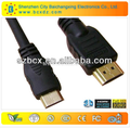 Factory sale high quality Mini hdmi to HDMI cable for Laptop marbook