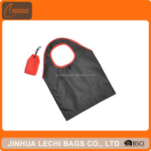 factory custom tote bag nylon foldable shopping bag promotional foldable tote bag