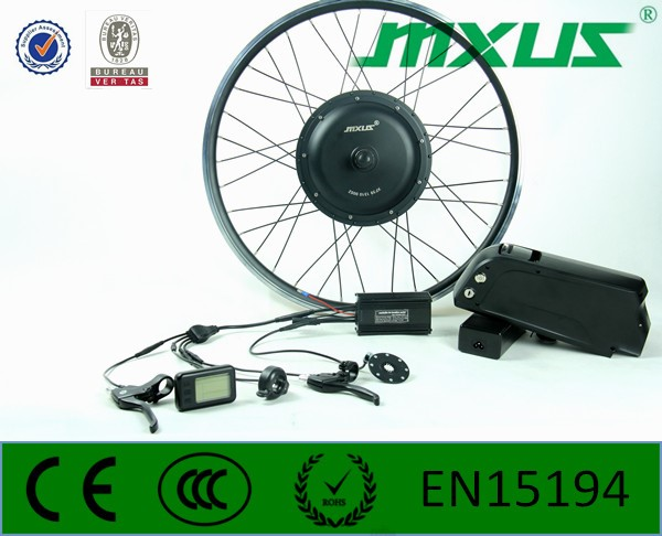 Brushless 48V 1500W e bike electric bicycle conversion kit with battery