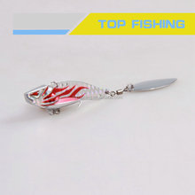 New style metal blade hard lures, Sinking vibe, Spinner bait, Bass hard bait, 60mm, 10g/15g