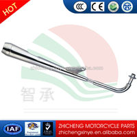 galvanized cheap muffler used for car complete exhaust system auto exhaust