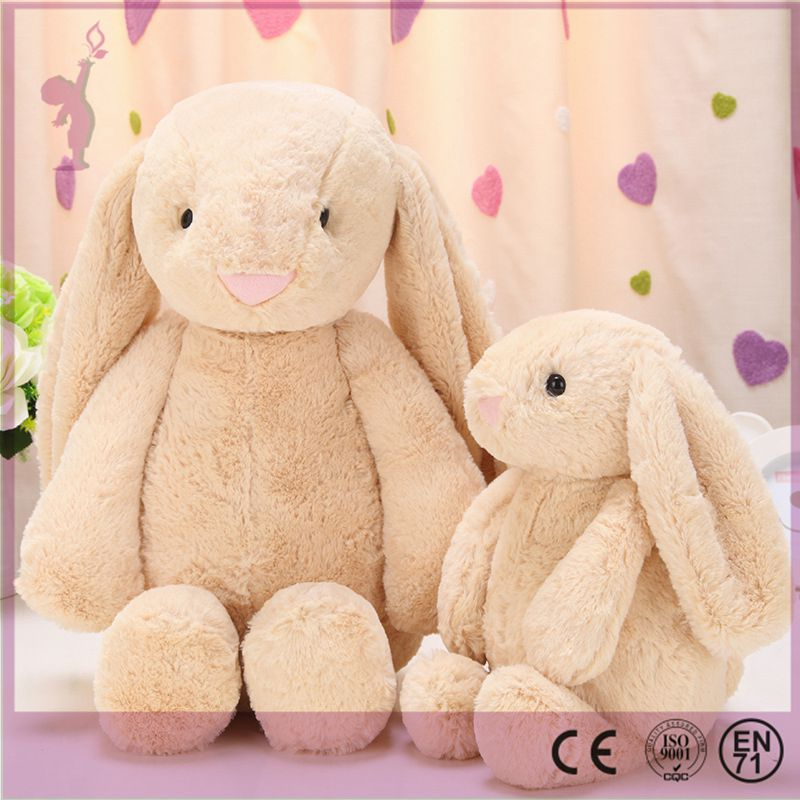 Alibaba new wholesale Plush Long Ear Bunnies Stuffed Plush Rabbit for Easter Day Decoration Toy