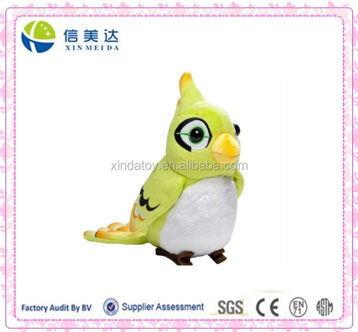 stuffed plush Overwatch fort's bird