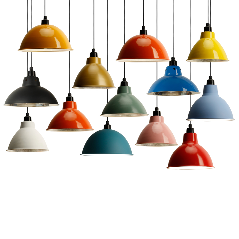 Good price colorful aluminum chandelier hang <strong>lamp</strong> fixture restaurant office dance coffee dinning room led pendant light