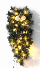 2015 new design creative hang led light christmas garland