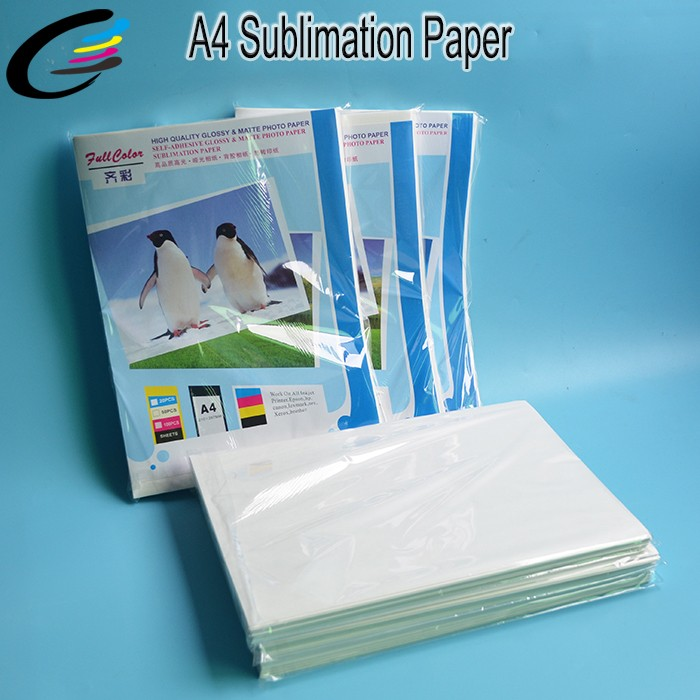 A3 A4 Sublimation Heat Transfer Paper Factory for T shirt / Ceramic / Mugs