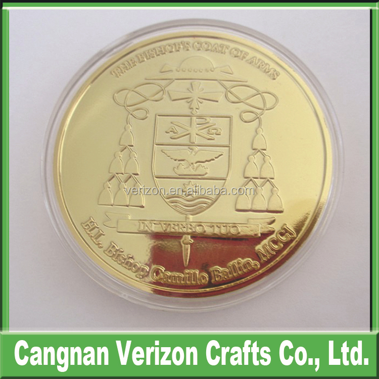 Over 10 years Experience souvenir slogan creative confidence trust calm metal challenge coin