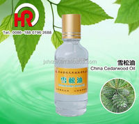 OEM Packing Therapeutic Grade cedar tree scientific name cedarwood essential oils