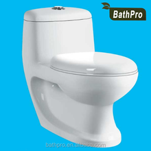 Big Size Floor Mounted Ceramic Bathroom Toilet