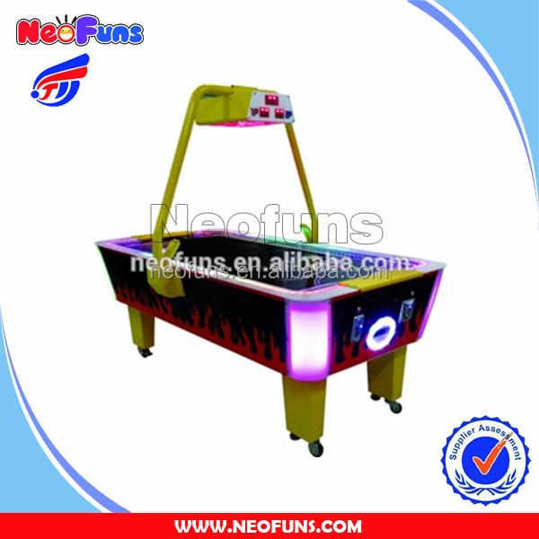 2016 Well Sale Two Player Indoor Star Air Hockey Table Popular Arcade Redemption Game Machine NF-R15A