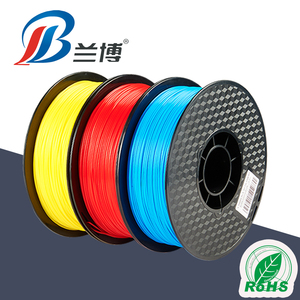 Lanbo customized colors 3d printing filament PLA ABS 1.75/2.85/3.0mm 3D Printing Material