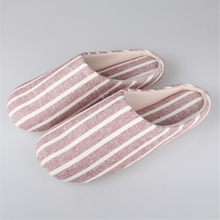 Fancy Linen Personalized House Slippers for men