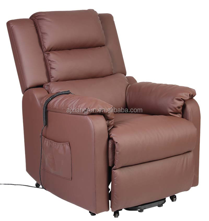 reclinable living room lift recliner chairs with mssage function leisure chair-XR-7001